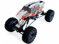 Автомобиль радиоуправляемый HSP Right Racing 1:10 краулер 4WD электро серый/красный RTR