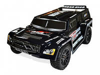 Автомобиль радиоуправляемый HSP Hummer Dakar H100 1:10 трофи - трак 4WD нитро черный RTR