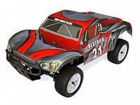 Автомобиль радиоуправляемый HSP Destrier 1:10 шорт-корс 4WD нитро серый/красный  RTR