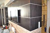 Шпонированные стеновые панели