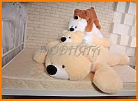 Лежачий медведь Умка 65см - мягка іграшка ведмедик