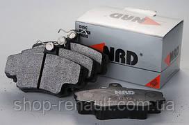 Тормозные колодки передние NRD N319 6001547911; 7701208265