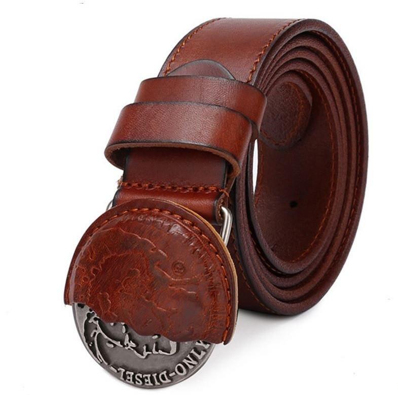 Модный мужской ремень для джинс кожаные ремни мужские купить уфа