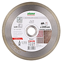 Алмазный отрезной круг Distar 1A1R 200x1,7x8,5x25,4 Bestseller Ceramic granite