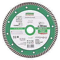 Алмазный отрезной круг Distar Turbo 180x2,4x9x22,23 Elite
