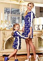 Стильные детские платья-туника Det-4
