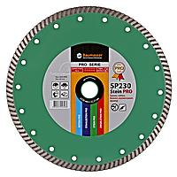 Алмазный отрезной круг Baumesser Turbo 230x2,6x9x22,23 Stein PRO