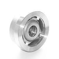 Клапан обратный нержавеющий межфланцевый подпружиненный AISI304 Ду20 Ру40