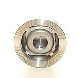 Клапан обратный нержавеющий межфланцевый подпружиненный AISI304 Ду15 Ру25, фото 4