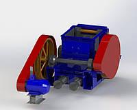 Дробилка одновалковая зубчатая ДОЗ-3,2х4