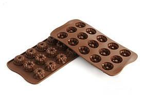 """Форма для шоколада """"Фантазия"""" Ø 28,5 мм h 15 мм Silikomart"""