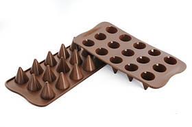 """Форма для шоколада """"Конус"""" Ø 26 мм h 28 мм Silikomart"""