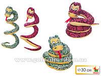 Змея мягкая, диам.30 см
