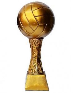 Статуэтка наградная Волейбольный мяч (30 см)