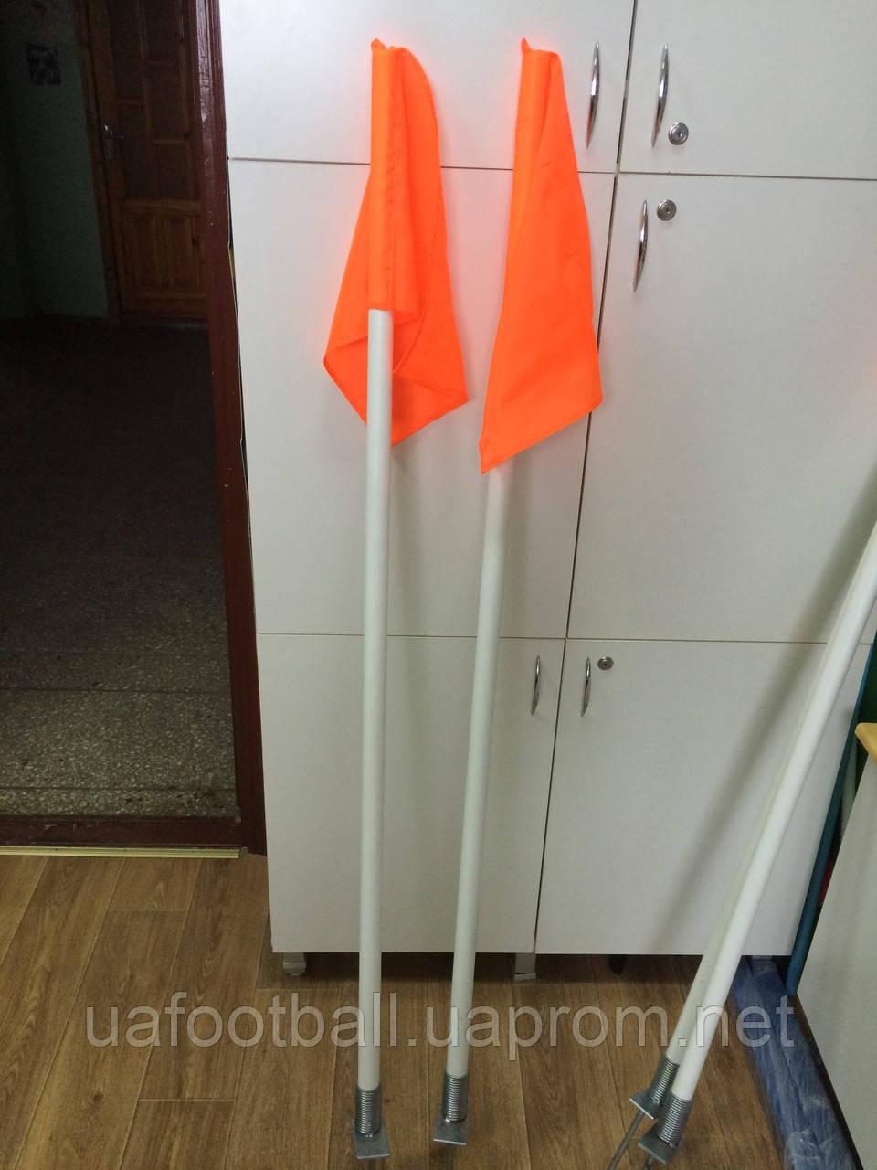 Флаги угловые на пружинах - SportsCity в Житомире