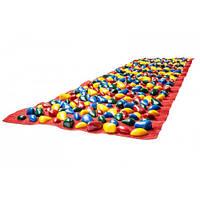 Коврик-дорожка массажный Ортопед с цветными камнями 150х40
