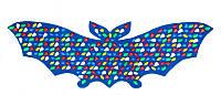 Коврик-дорожка массажный Летучая Мышь 143х50