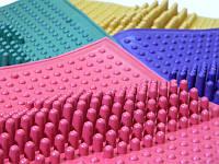 Коврик массажный резиновый от плоскостопия (26*26 см)