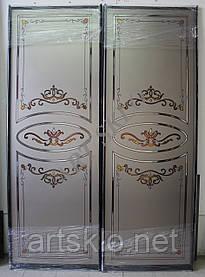 Двери для шкафа купе витраж