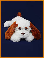 Плюшевая собака Тузик 53см | мягкая игрушка собака