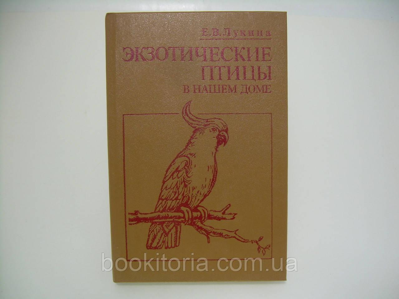 Лукина Е.В. Экзотические птицы в нашем доме (б/у).