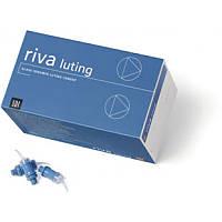 Самоотверждаемый стеклоиономерный цемент Riva Luting Plus (50 капсул)