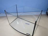 Аквариум овальный ( объем 24 л.) 400х250х250мм
