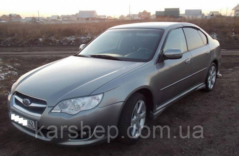 Дефлектор окон на Subaru Legacy IV Sd 2003-2009