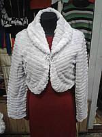Женское болеро белого цвета