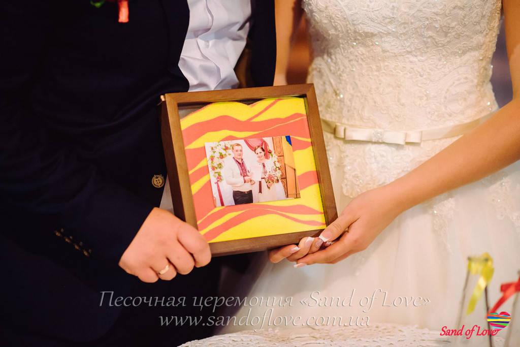 Рамка с фото, фотографии наших молодоженов набор №15