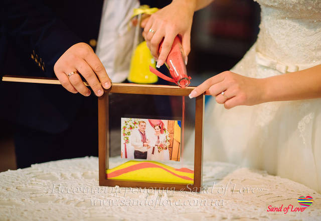 Рамка с фото, фотографии наших молодоженов набор №15 1