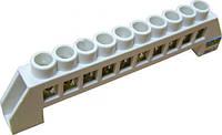 Нулевая шина в пластиковом корпусе BC-6A 04 (6x9)