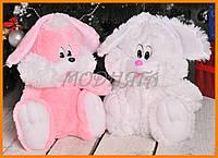 Плюшевая игрушка заяц | Большой сидячий заяц 110см