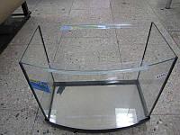 Аквариум овальный ( объем 54 л.) 600х300х300мм