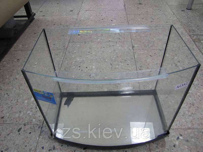 Аквариум овальный (объем 62 л.) 600х300х400мм