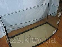 Аквариум овальный (объем 100 л.) 800х350х400мм