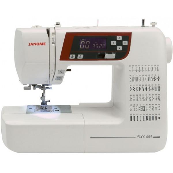 Компьютеризированная швейная машина Janome DC 603