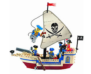 Конструктор Brick 304 Пиратский корабль 188 деталей