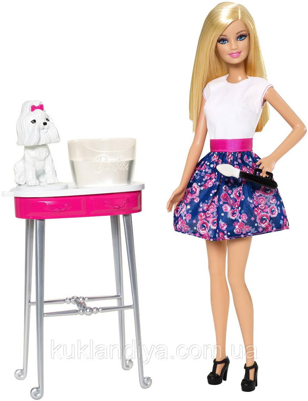 Набор Barbie Гламурный салон для любимцев