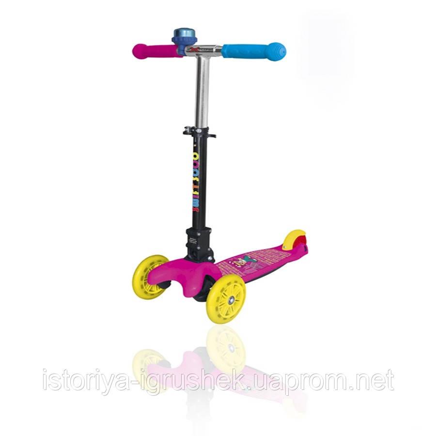 Детский трёхколёсный самокат Explore SWIFT SCOO JUNIOR  (со звоночком)