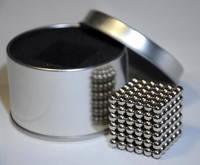 Запасные шарики для неокуба 5мм никель стальной