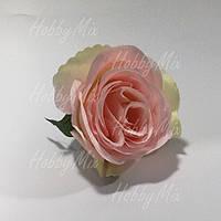 Головка розы мал. _св.розовая