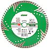 Алмазный отрезной круг Distar Turbo 125x2,4x10x22,23 z4 Elite Duo