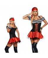 """Эротический игровой карнавальный костюм """"Пиратка"""" 112876"""