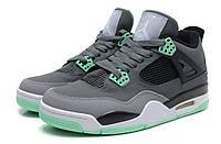 "Кроссовки Air Jordan 4 (IV) Retro ""Dark Grey Green Black """