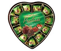 Шоколадные конфеты с орехом фундук Maitre Truffout, 165 г