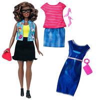 Кукла Барби с набором одежды - пышная / Barbie Fashionistas Doll 39 Emoji Fun Doll & Fashions - Curvy