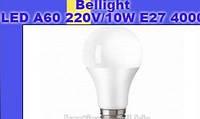Энергосберегающая светодиодная лампа LED A60 220V/10W E27 4000K