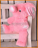 Розовый слон магазин игрушек | Плюшевый слоник 65см