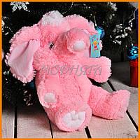 Мягкая игрушка слон в разных цветах 55см